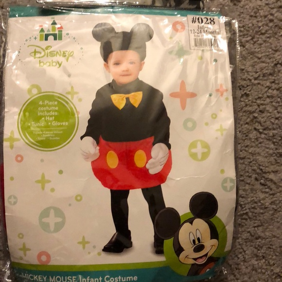 3a2a07234c1f Costumes | Infant Mickey Mouse Halloween Costume | Poshmark